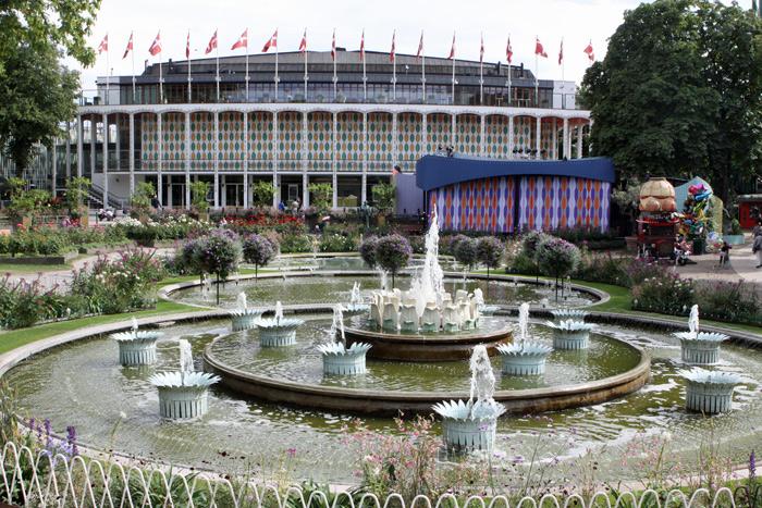 Jardins do Tivoli de Copenhague