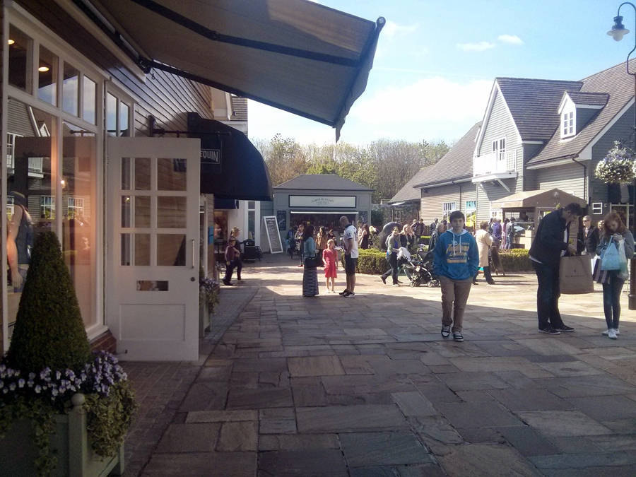 Outlet perto de Londres Bicester Village