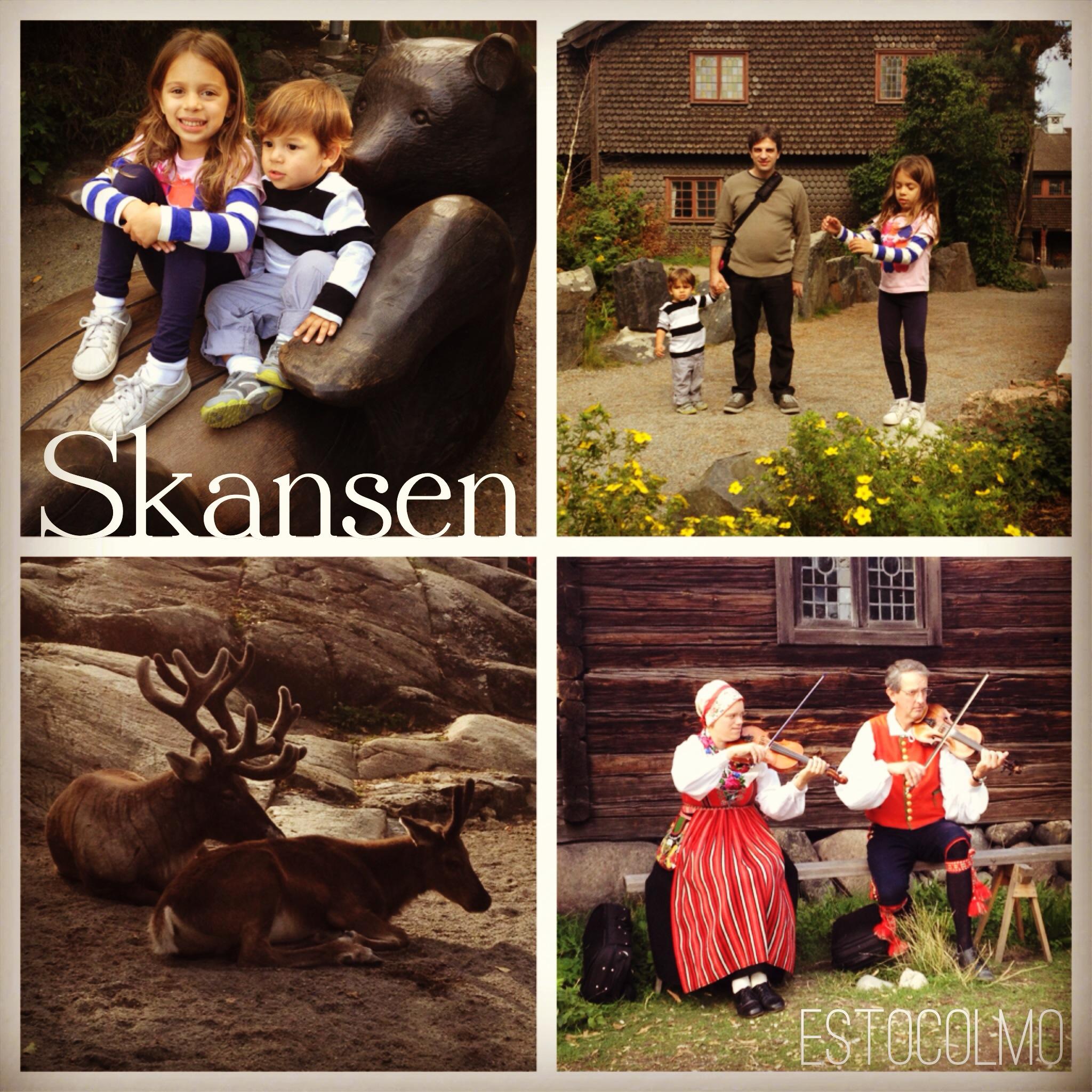 Visitando Skansen no verão, as crianças amaram (e nós também)