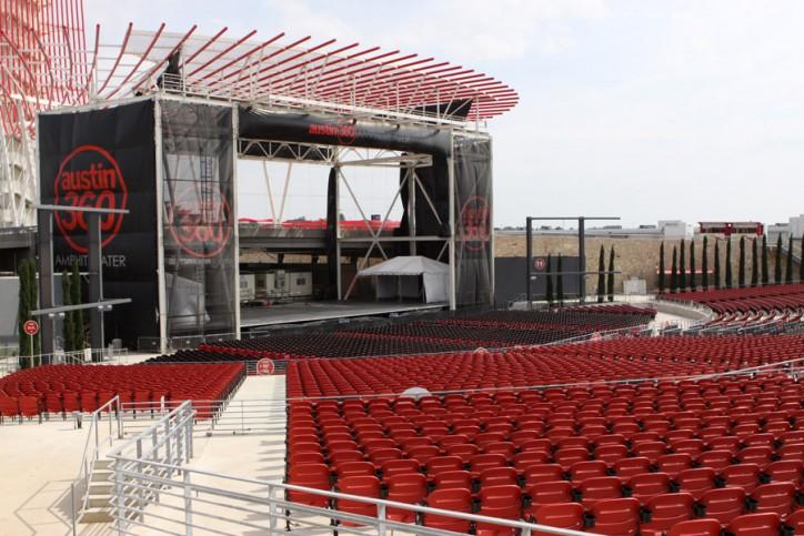O anfiteatro Austin 360 que ganhou prêmio de melhor do mundo