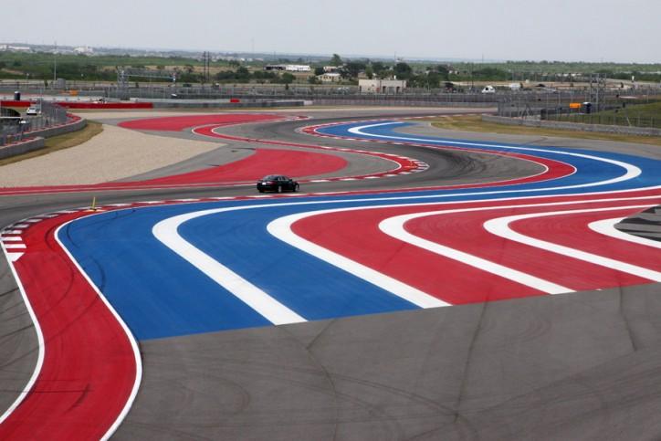 As curvas em S do Circuito das Américas