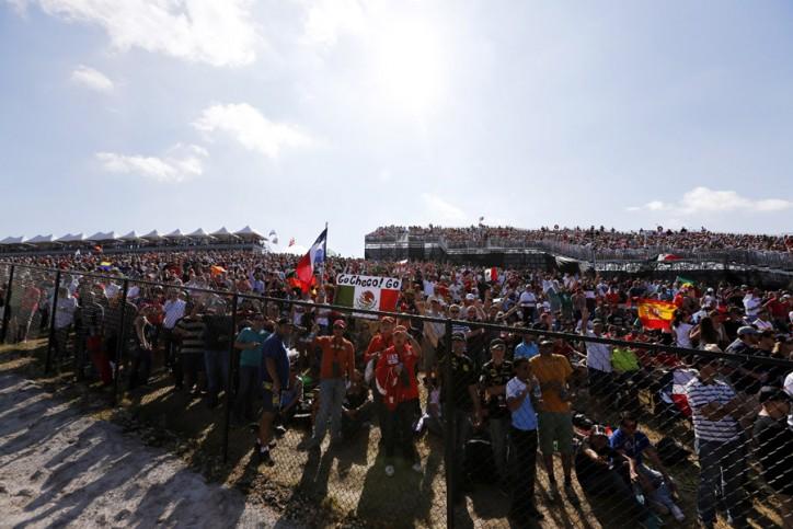 Escolha o seu lugar nessa festa da Fórmula 1 em Austin