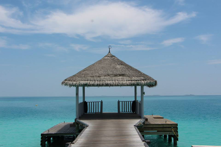 Lua de mel nas Maldivas