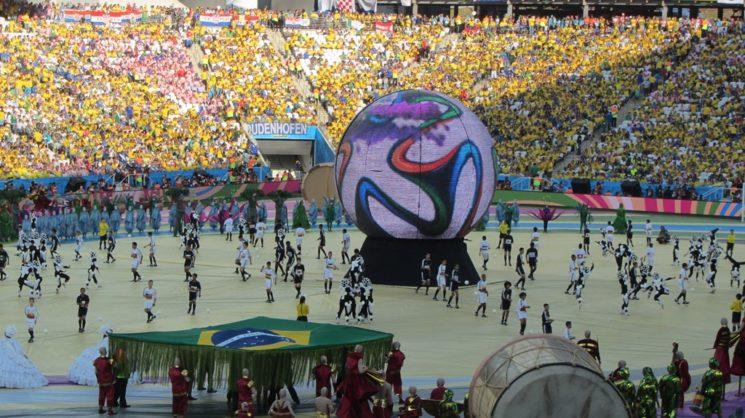 Abertura da Copa no Brasil 2014 Copa do Mundo 2014 a Abertura