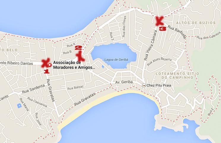 Geriba Mapa
