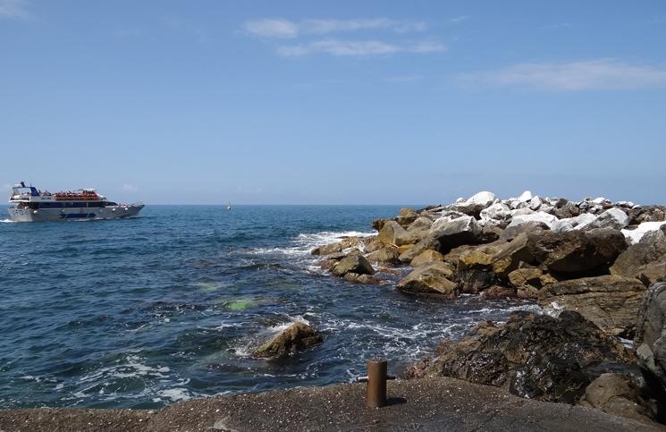 transporte em Cinque Terre
