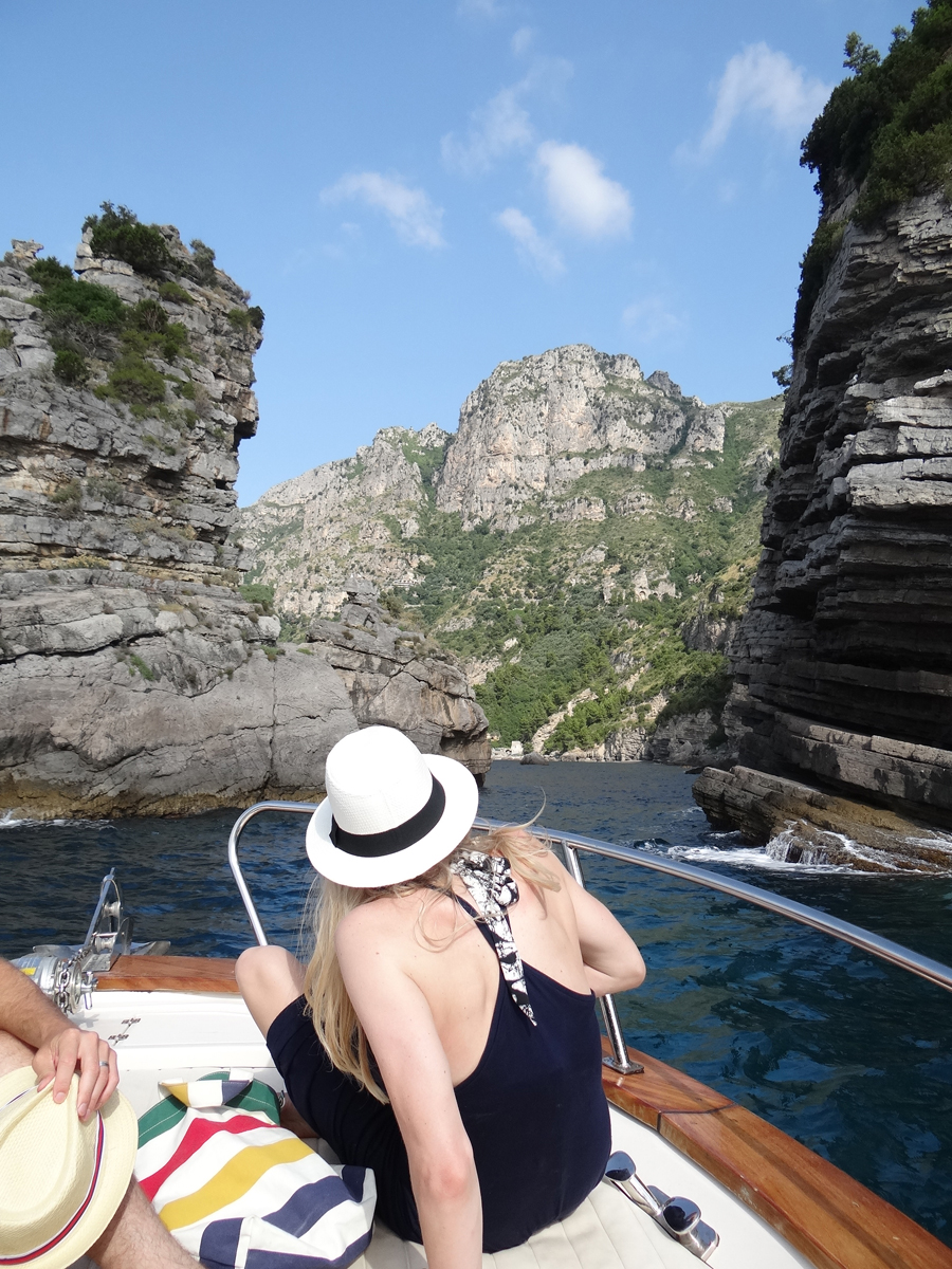 Costa Amalfitana: passeio de barco para Capri -