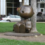 A Turma do Charlie Brown e Snoopy em St. Paul, Minnesota