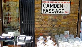 Compras em Londres: Camden Passage