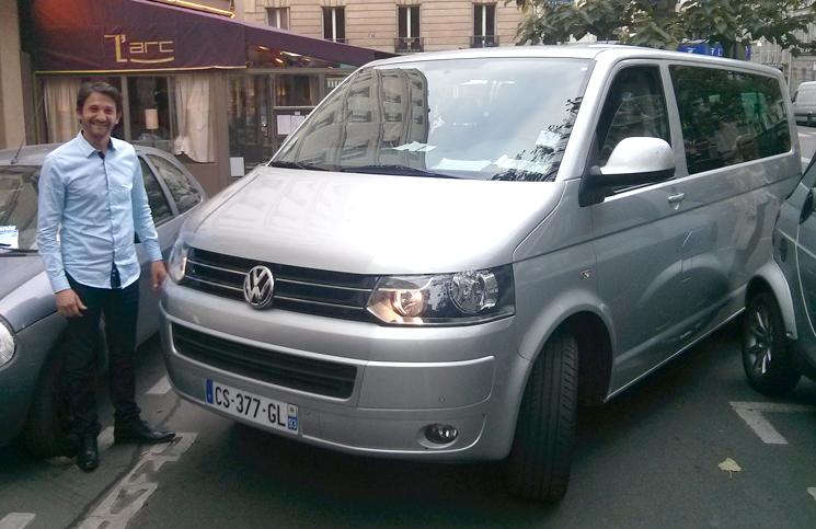 motorista brasileiro em Paris