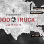 Four Seasons Food Truck em DC, Atlanta, Miami e Orlando