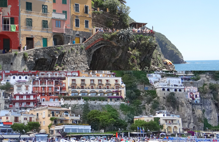 Cinque Terre ou Costa Amalfitana