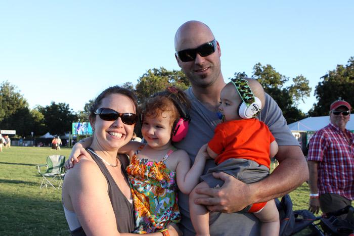 Até família com bebês você via no ACL Fest, esses já estão no segundo ano