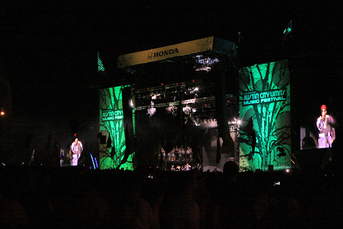Show do Outkast no palco Honda