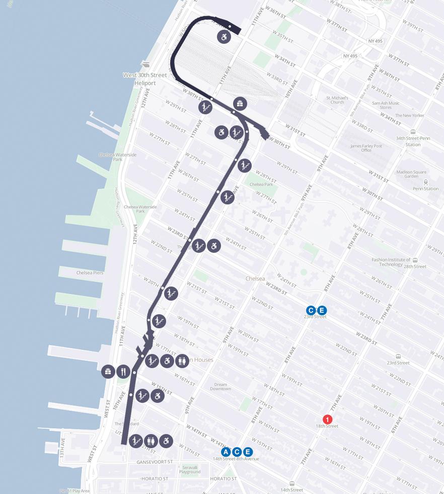 High Line: o parque criado sobre uma ferrovia em Nova York -