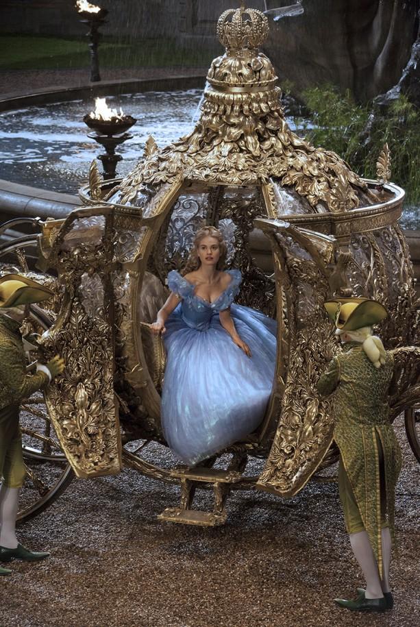 A carruagem da Cinderella - Foto: Divulgação