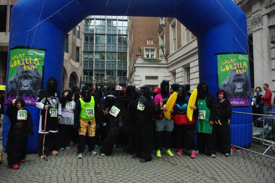 Corridas em Londres