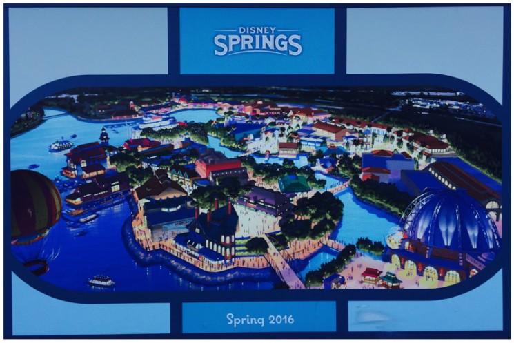 E assim ficará Disney Springs!