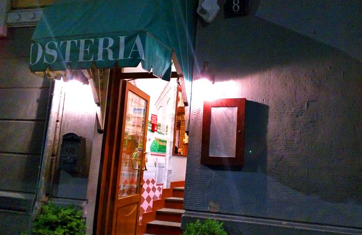 Restaurante em Milão