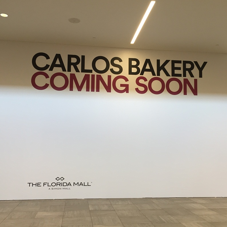 Carlos Bakery Florida Mall