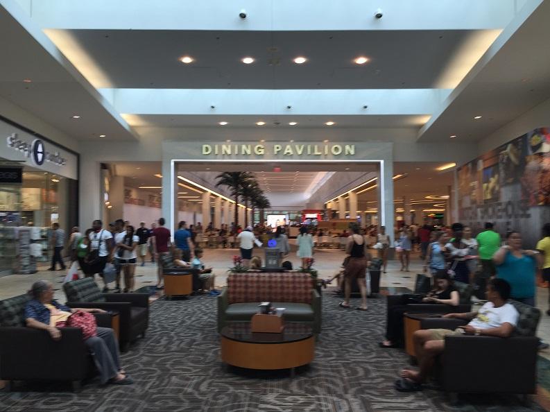Nova Praça de Alimentação do Florida Mall