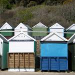 Bournemouth: praia de areia no litoral sul da Inglaterra