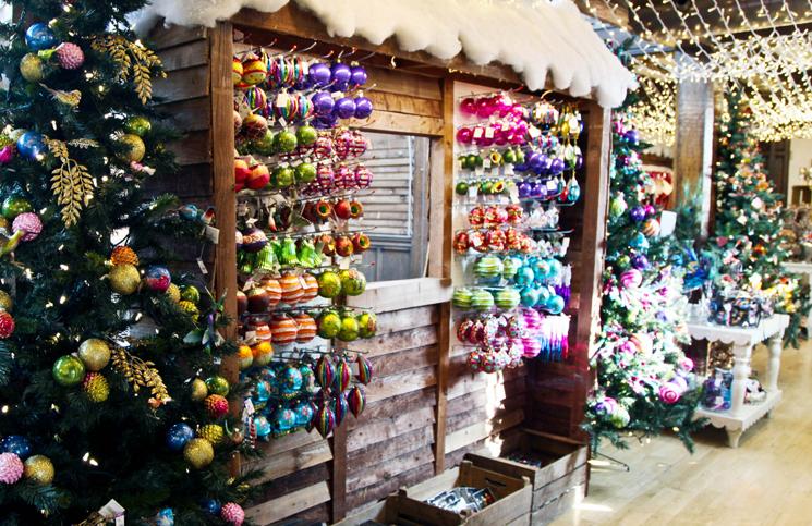 Lojas de artigos de natal