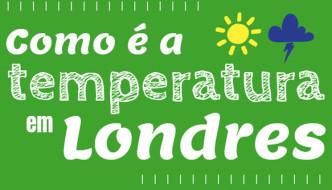 Temperatura em Londres