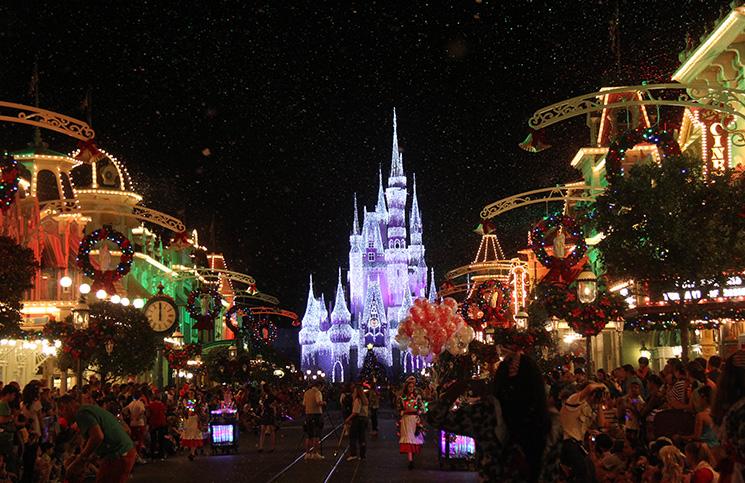 Neve em Main Street