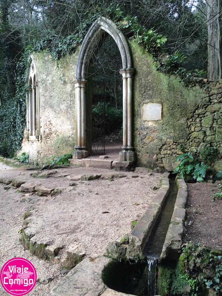 7 - Arcada e Fonte dos Amores Quinta das Lágrimas Coimbra