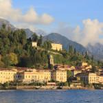 Visitando Bellagio no Lago di Como na Itália