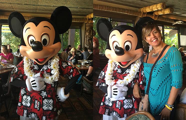 Mickey havaiano