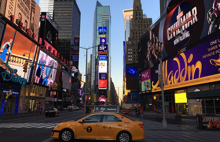 Onde se hospedar em Nova York: Times Square -