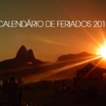 Calendário de Feriados no Brasil em 2017
