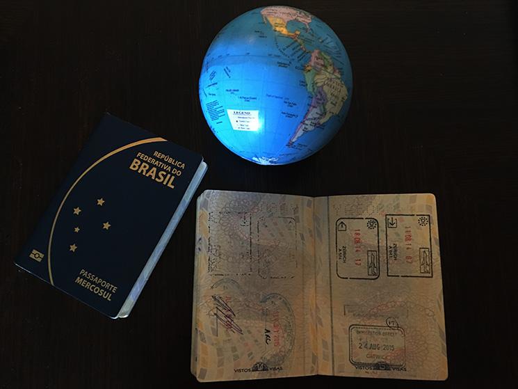 Quais os países que exigem visto de turista para Brasileiros -