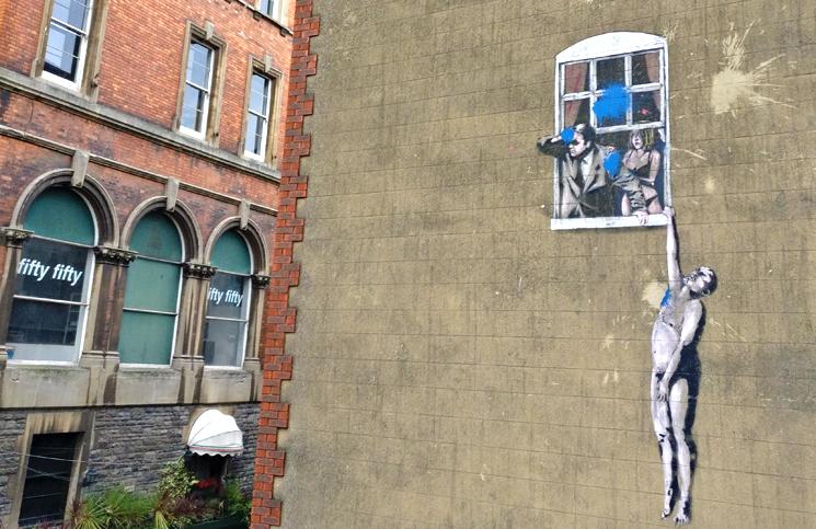 tour de street art em Bristol