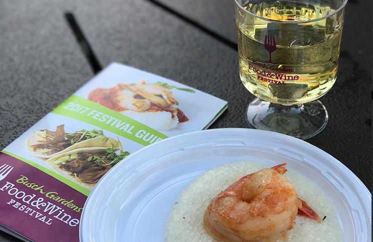 Busch Gardens Food Wine Festival