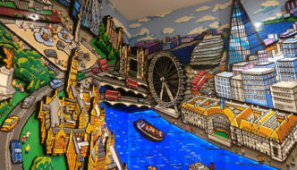 Loja da Lego em Londres, a maior do mundo!