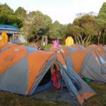 Diário do Kilimanjaro #6: estrutura do acampamento durante a expedição