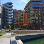 """Paddington Basin: um """"calçadão"""" delicioso em Londres"""