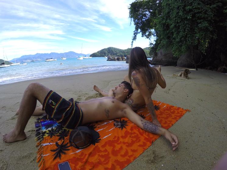 Praia do Abraão - Ilha Grande