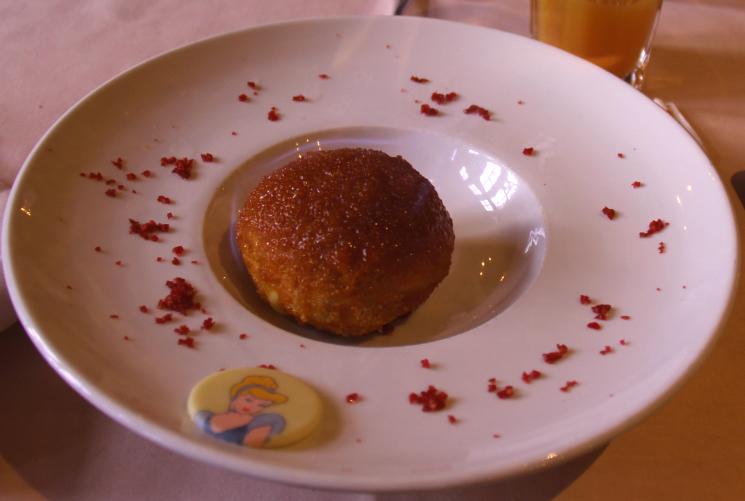 sobremesa alberge de cendrillon