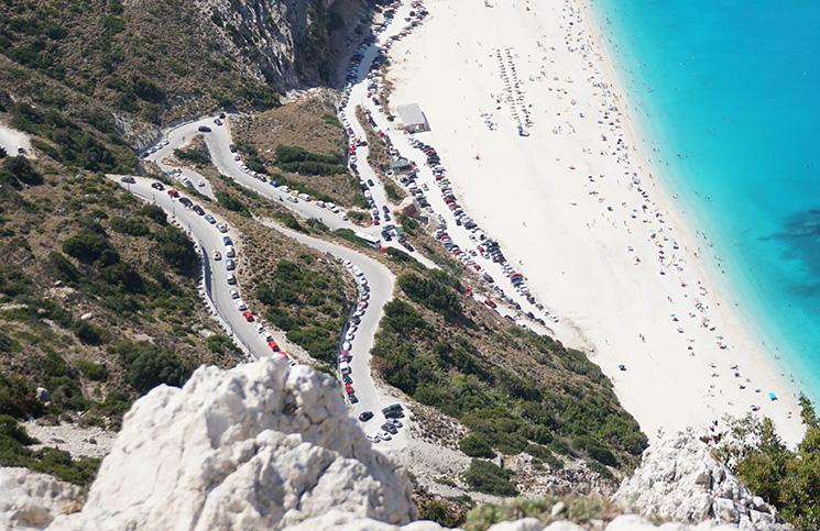dirigir nas ilhas gregas