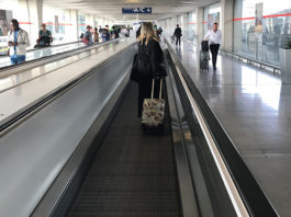 Mala no aeroporto