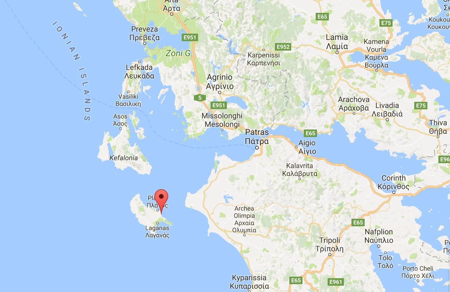 Muitas vezes Como é dirigir nas ilhas gregas - AU08