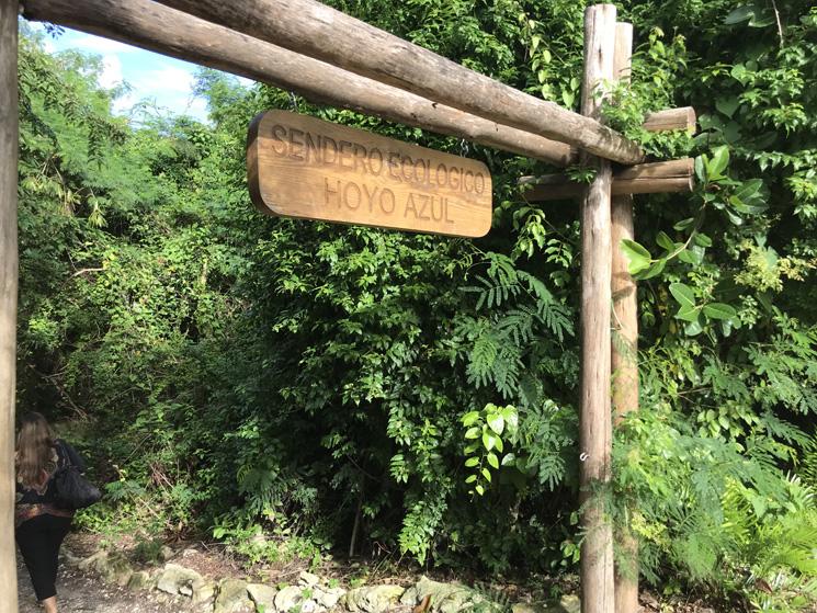 entrada do cenote