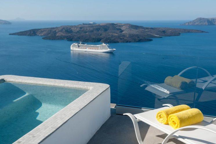 Quarto do Keti Hotel em Fira, Santorini