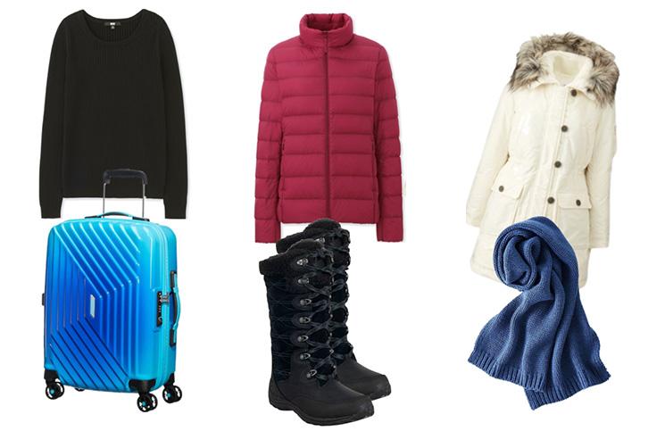 Fazendo a mala de inverno: Se vestindo em camadas -