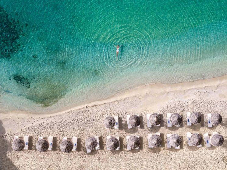 A Ilha de Mykonos na Grécia
