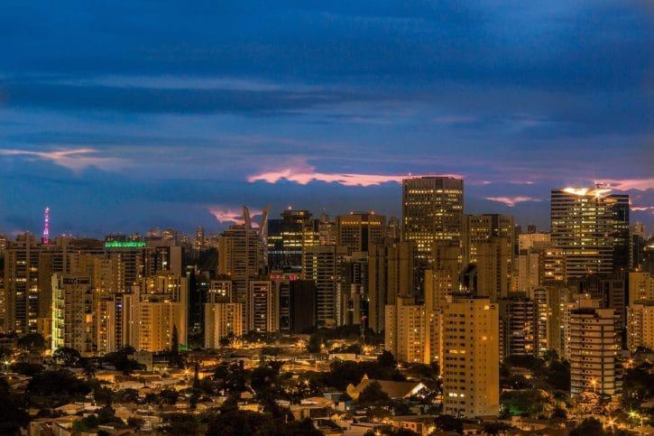 São Paulo Linha do Horizonte - Brasil